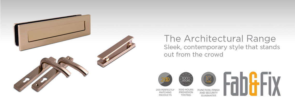 Fab&Fix Architectural Door Hardware Range