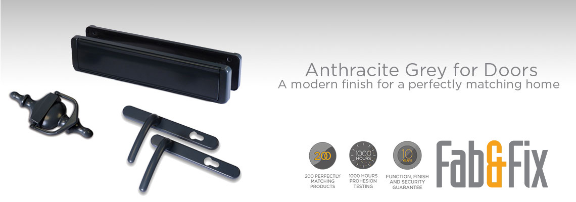 Anthracite Grey Hardware