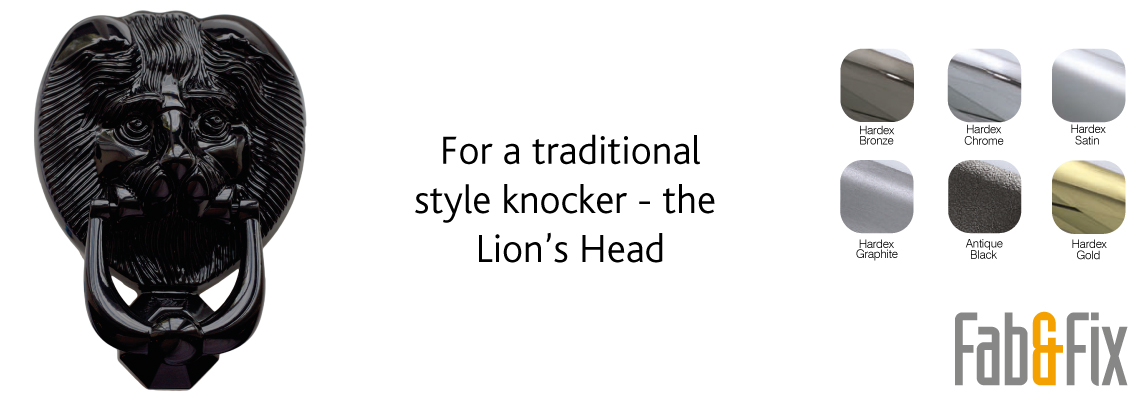Fab&Fix Lions Head Door Knocker