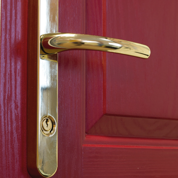 Security Handles for Euro Cylinder Locks