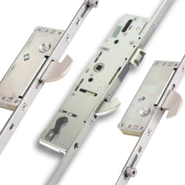 Hook and Roller Locks for PVCu Doors