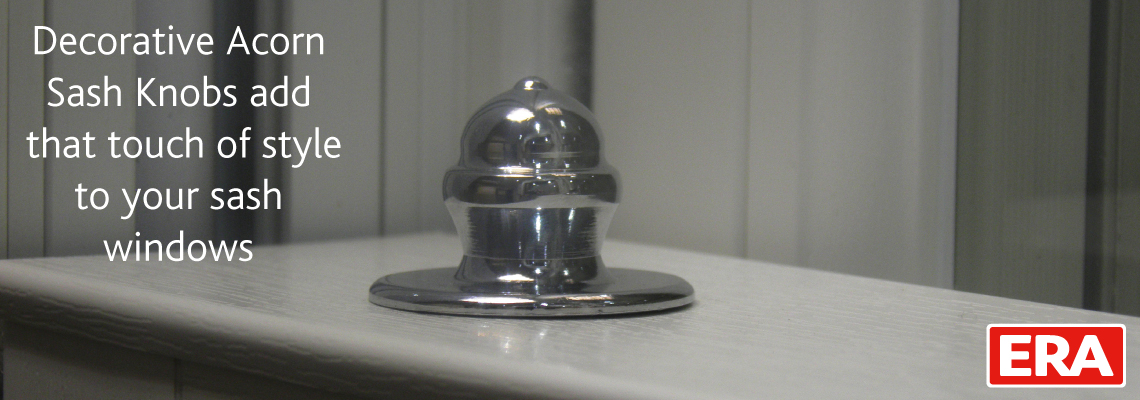 ERA Decorative Bottom Sash Knob