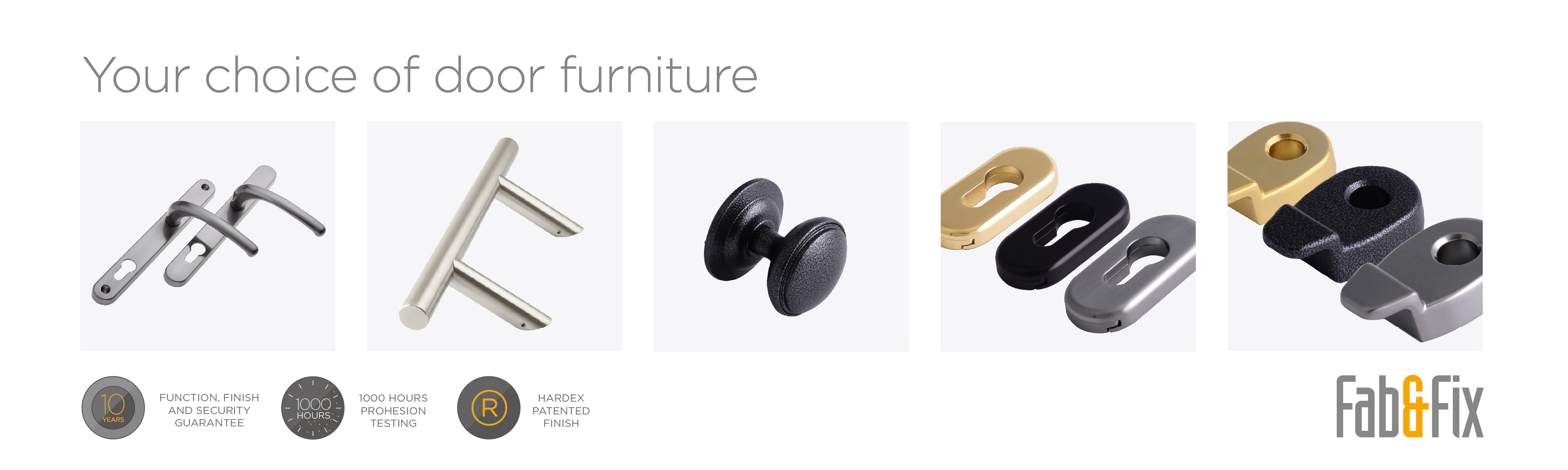 Fab&Fix your choice in door furniture