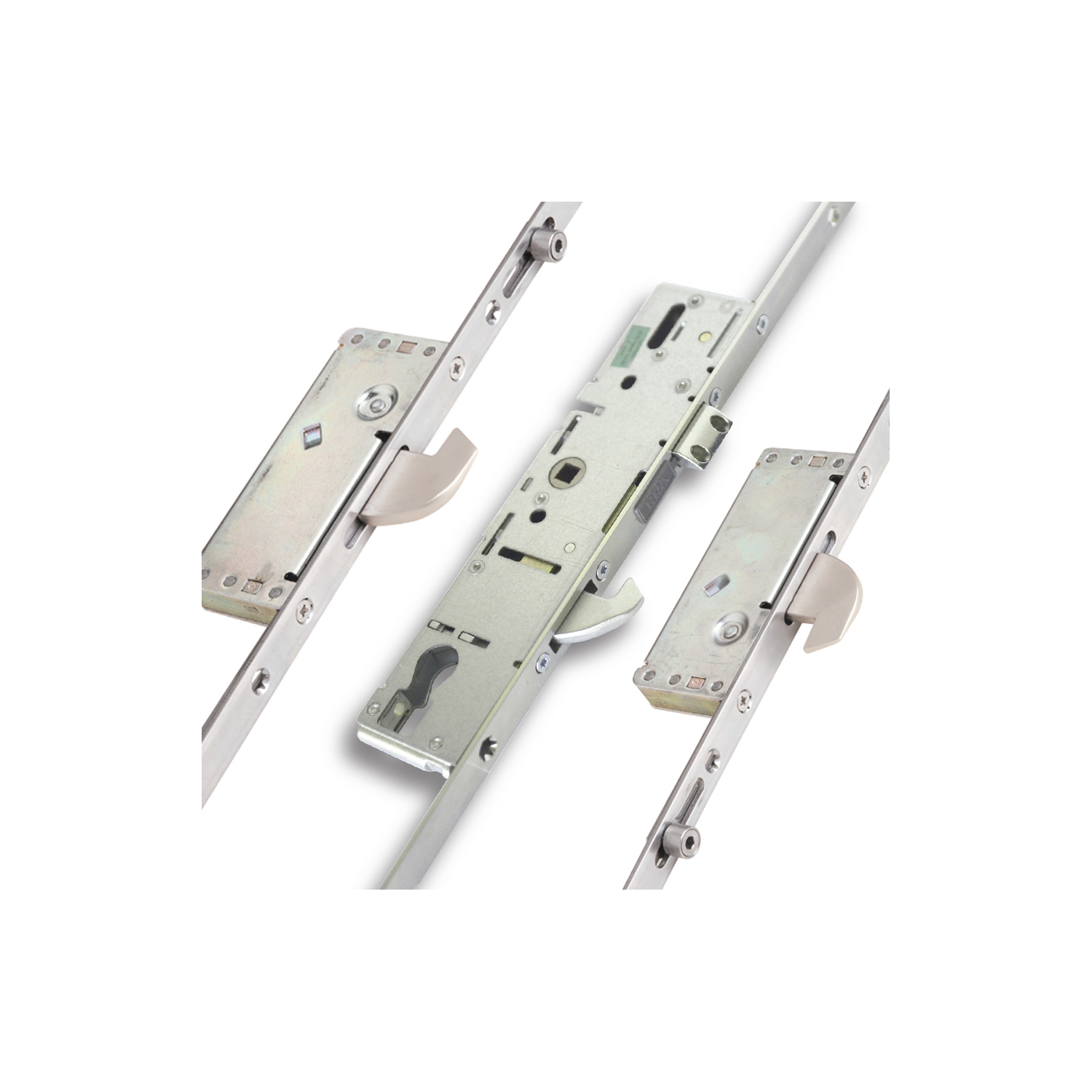 3 Hook 2 Roller Invincible Cylinder Multi Point Door Lock