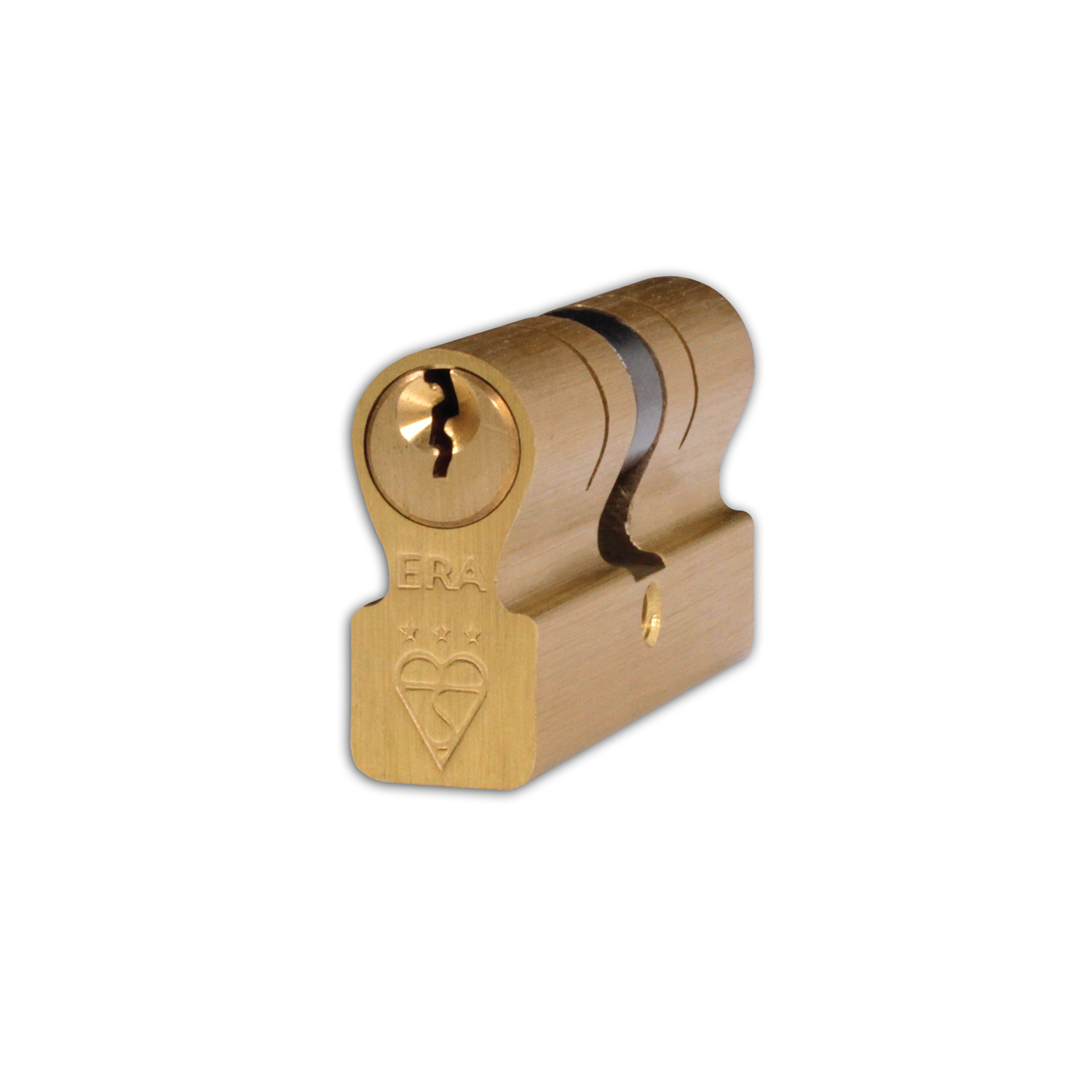 British Standard Kitemarked 6 Pin Invincible Double Door Cylinder