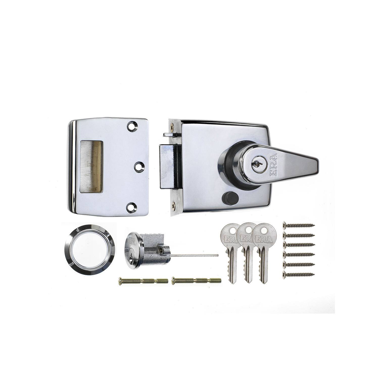 Double Locking Nightlatch Door Lock