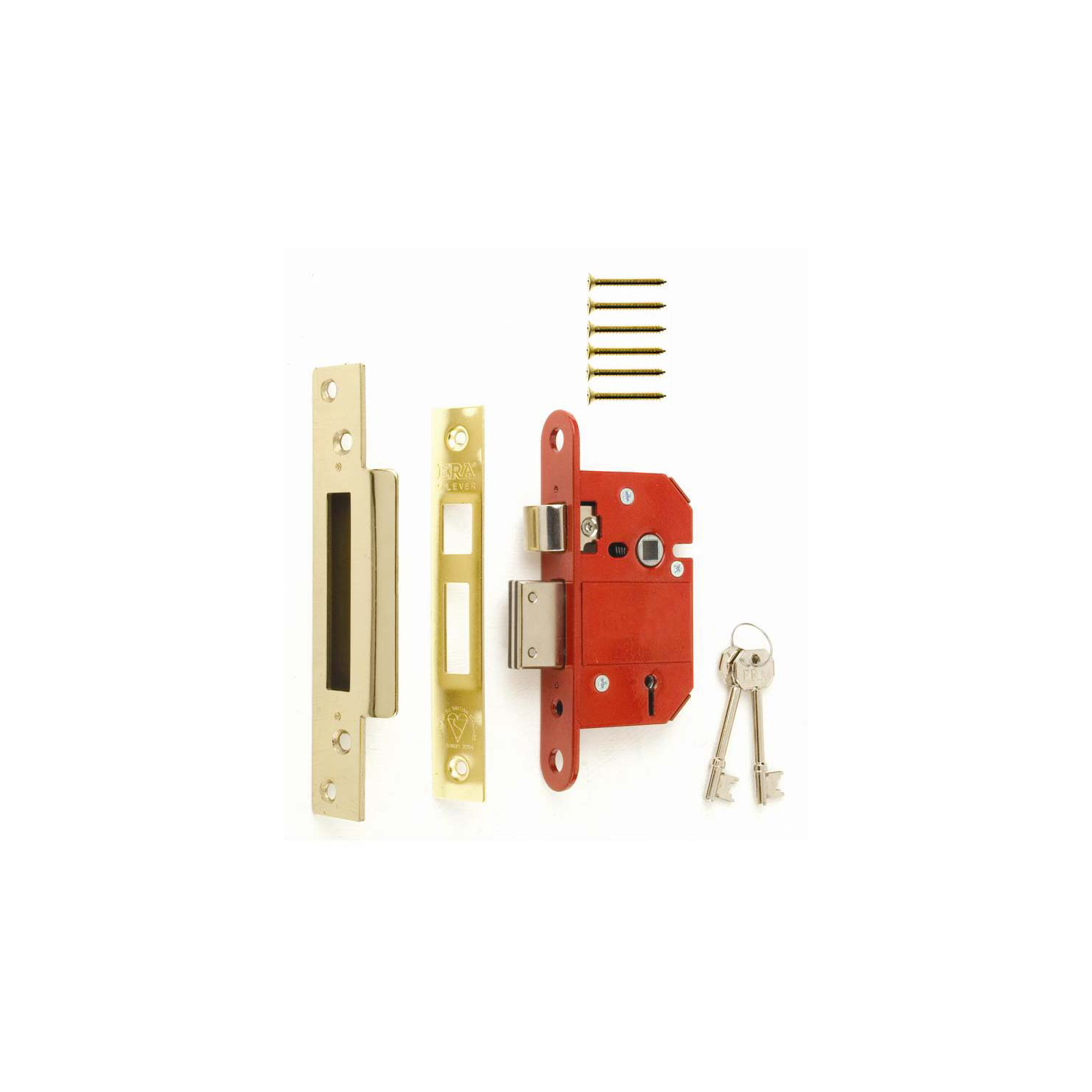 BS3621 Fortress 5 Lever Mortice Sashlock