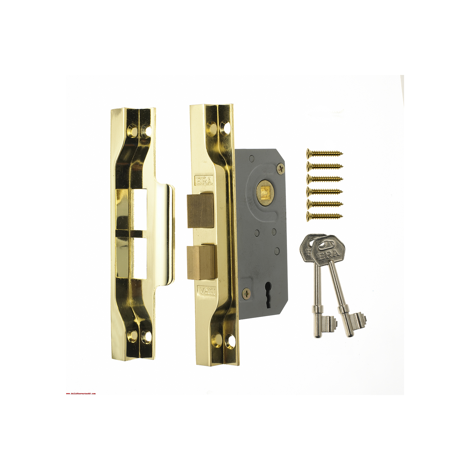 Rebated Door Lock