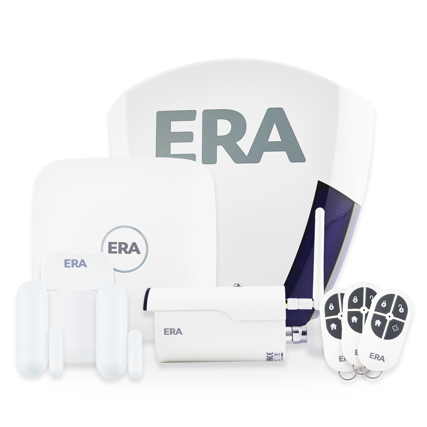 ERA Protect Defender Smart Alarm Kit with Live Siren & External HD Camera
