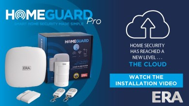 See how easy it is to install the ERA HomeGuard Pro. A fully integrated cloud based smart home alarm system, the HomeGuard Pro allows the homeowner to monitor multiple locations from one easy to use S